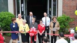 Minute Man Arc's ribbon cutting